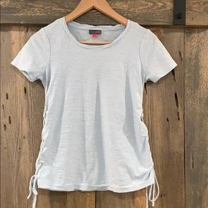 Vince Camuto side lace tee XXS